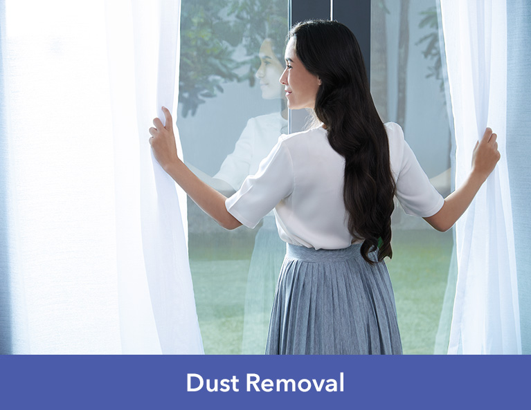nanoe™ Technology - deodorises, inhibits bacteria and viruses, dust removal, quality air