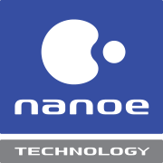 nanoe™ Technology logo - deodorises, inhibits bacteria and viruses, dust removal