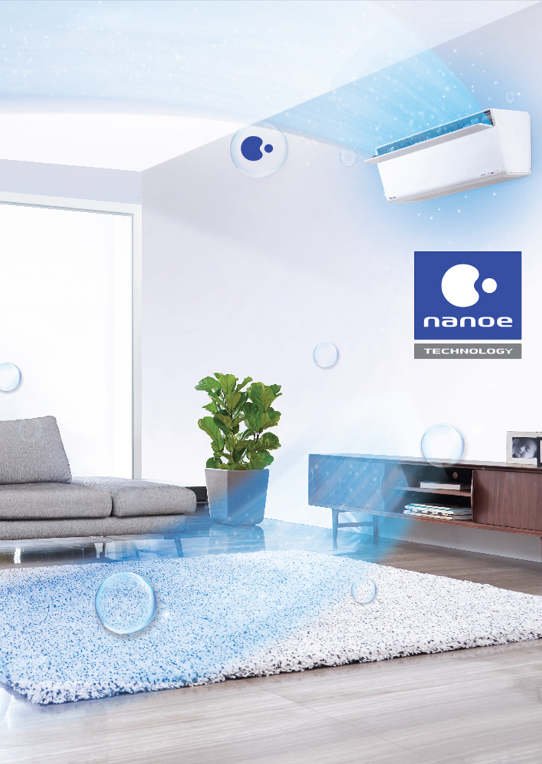nanoe™ Technology - Air Purification System for Air Pollution