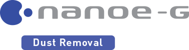 nanoe-G logo - dust removal - Panasonic Air Conditioner