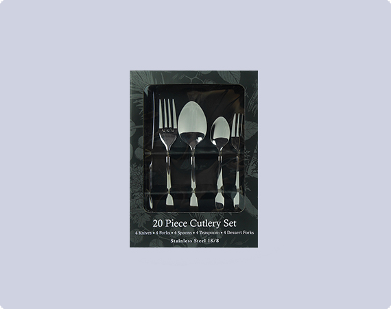 ALCOTT'S FINEST (20PCS CUTLERY SET)