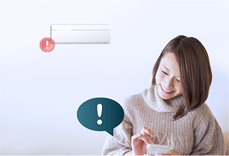Smart Assist - Easily identify air conditioner's issues and allow multiple users access