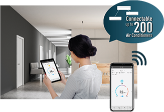 Smart Business Control - Centralised control of air conditioning for business
