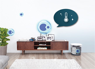 Smart Comfort - Care for your indoor air quality wherever you are